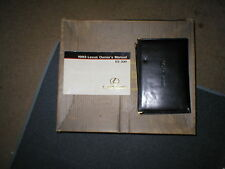 1993 Lexus Es300 owners manual with case