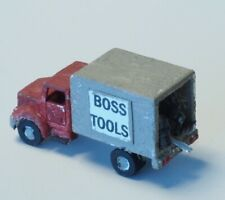 Hand built Z-scale DELIVERY TRUCK WITH DETAILS