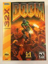 Doom - Sega 32X - Replacement Case - No Game