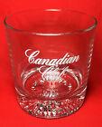 Vintage Canadian Club Whisky Whiskey Glass Tumbler Barware 12oz