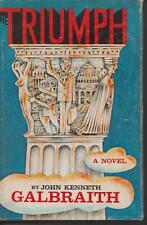 TRIUMPH by JOHN KENNETH GALBRAITH hc/dj 1968 1st ed