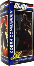 Gi Joe Sideshow Collectibles 12 Inch Deluxe Action Figure Cobra Commander