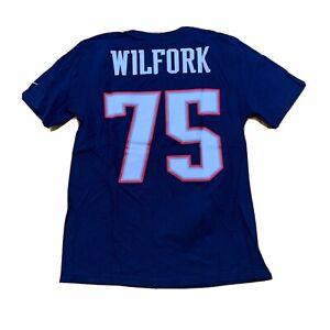 Vince Wilfork NEw England Patriots Jersey Shirt NFL Football Nike Size Medium
