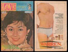 1982 Philippines LOVE STORY KOMIKS MAGASIN Vilma #570