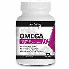 Vitamiss Omega – Potent & Organic Omega 3, 6, 9 Fish Oil Supplement with EFA's