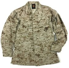 USMC Marines Desert MARPAT Digital Camo Jacket Size Med-Long #A27