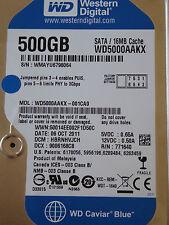 Western Digital WD5000AAKX-001CA0 | HBRNHVJCH | 06 OCT 2011 | 500GB harde schijf
