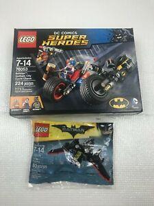 LEGO DC Super Heroes Batman Gotham City Cycle Chase 76053 set 224 pc NEW Sealed