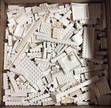 LEGO 1+ lb Pound Lot of Bricks Parts Random White Assorted Clean