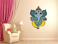 Beautiful God Ganesha Wall Sticker Decals Vinyl Art Living Room Decors
