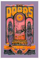 Rock: Jim Morrison & The Doors at Sacramento Concert Poster 1970  2nd Print