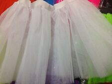 LADIES TUTU SKIRT CHRISTMAS~DISCO~FANCY DRESS,HEN PARTY,80'-90'S ADULT FASHION