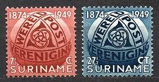 Suriname - 1949 75 years UPU Mi. 313-14 MH