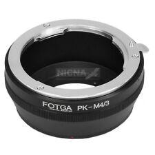Pentax PK lens to Micro 4/3 M4/3 adapter For Olympus E-P5 E-5 E-P3 E-P2 E-M5 OMD