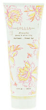 Lollia Breathe Shower Gel Perfumed with Peony & White Lily Floral Moisture Rich