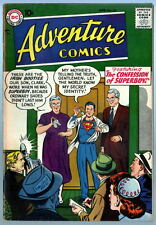 ADVENTURE COMICS #235 w Superboy 1957 Graded 7.0