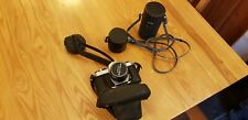 Pentax Asahi Camera with lenses and case