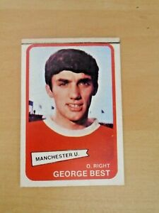 A&BC CARD,GEORGE BEST 1960s