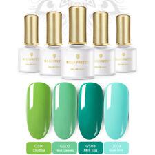 4 pcs/set BORN PRETTY Green Series UV Gel Polish Kit UV LED Lamp Nail Manicure