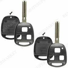 2 Replacement for Lexus GS430 IS300 LS400 Remote Car Keyless Key Fob Shell Case