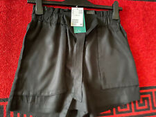 Ladies Shorts from H&M - Black - Size UK10 New With Tags RRP  £17.99