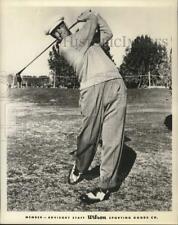 "1958 Press Photo Golfer Stewart ""Skip"" Alexander - hps00732"