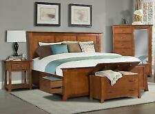 Solid Wood Storage Beds For Sale Ebay