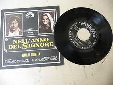 """ARMANDO TROVAJOLI""""NELL'ANNO DEL SIGNORE-disco 45 giri CINEVOX It 1973""""OST-RARE"""