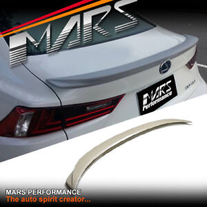 F SPORTS STYLE ABS PLASTIC REAR TRUNK LIP SPOILER FOR LEXUS IS250 IS350 ISF XE30