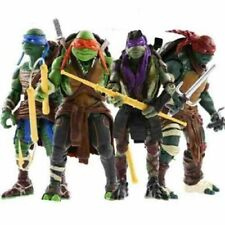 NEW 2014 Teenage Mutant Ninja Turtles Movie TMNT Set of 4 Action Figures Toys