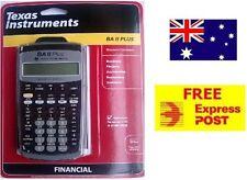 Texas Instruments - TI BA II Plus Financial Calculator *FREE EXPRESS POST* AUS
