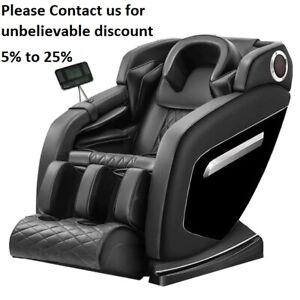 Luxury Electric Massage Chair Power Relax Full Body Recliner Zero-gravty LCD