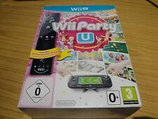 WII PARTY U BLACK REMOTE EDITION. NINTENDO WII U. NEW & FACTORY SEALED.PAL.
