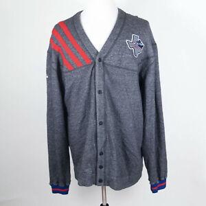 RARE Adidas Dallas Chaparrals ABA San Antonio Spurs Warm-Up Cardigan 2XL + 2