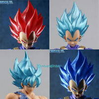 Dragon Ball Vegeta Super Saiyan Son Goku Head Sculpt Accessories Model For SHF