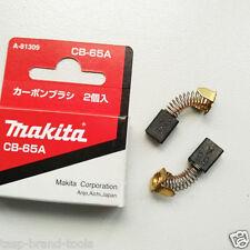 Makita CB65/65A/72/76 Original Carbon Brushes 2Pc For Electric Motors 5x8x11.5mm