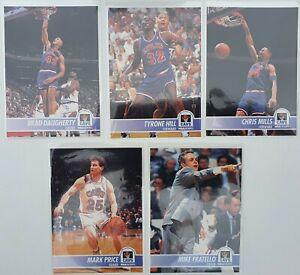 Lot de 5 Cartes Basketball NBA Hoops 94/95 Cleveland Cavaliers