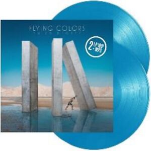 Flying Colors - Third Degree - New Limited Edition 180g Blue Vinyl 2LP + MP3