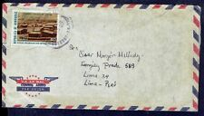 2435 Honduras To Peru Air Mail Cover 1973 Tegucigalpa - Lima