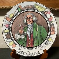 "Royal Doulton The Squire 10 1/2"" Dinner Plate England T.C. 1051 - Excellent"