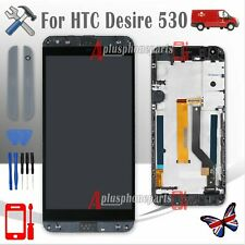 LCD Display Touch Screen Digitizer Replacement For HTC Desire 530 Black +Frame