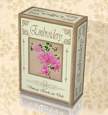 100 Rare Books on DVD Embroidery  Needle Kit Needlework Pattern Design Yarn 264
