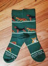 Akc dog breed ladies Border Terrier Fox novelty socks new mydogsocks Sale