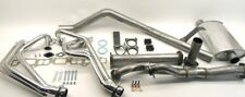 Full exhaust system with ceramic coated headers Toyota 60 Series FJ60EXHAUSTSYS