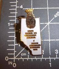 ROYAL ORDER OF JESTERS lapel pin, Edmonton Alberta Canada, 1990