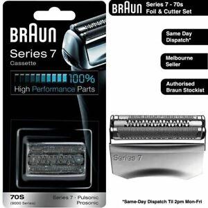 BRAUN 70s Series 7 Foil & Cutter Replacement Head for 790CC 760CC 720S 765CC