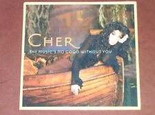 CD SINGLE 2 TITRES / CHER / THE MUSIC'S NO GOOD WITHOUT YOU / NEUF SOUS CELLO