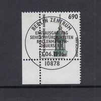 BRD Mi-Nr. 1860 zentrisch gestempelt ESST - Bogenrand / Eckrand / Ecke 4