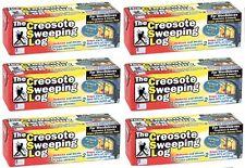 (6) ea Creosote Sweeping Log  # SL 824-12 Chimney Pipe Cleaner