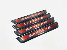 For Hyundai Santa Fe Accessories Door Sill Scuff Plate Guard Protector Trim 2019